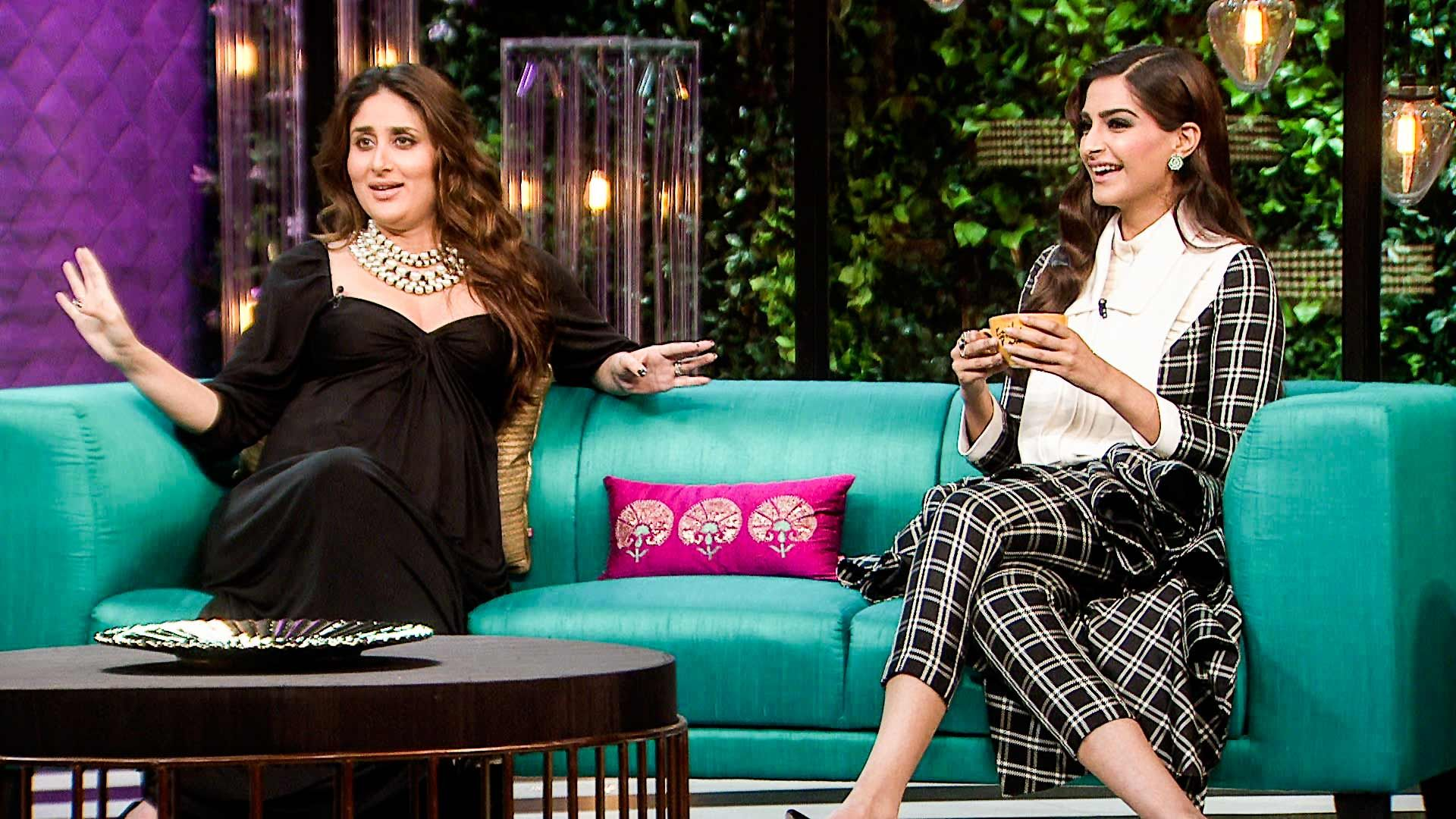 Koffee with Karan Season 6 Episode 11 with Sonam Kapoor, Rhea Kapoor & Harshvardhan Kapoor